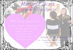 Valentine's Day Personal Styling Session only $75!! (Hair & Makeup!) Central Florida Residents Only.
