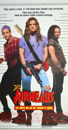 Steve Buscemi, Brendan Fraser, and Adam Sandler in Airheads Go To Movies, Funny Movies, Great Movies, Movies And Tv Shows, Awesome Movies, 2020 Movies, Kid Movies, Comedy Movies, Adam Sandler