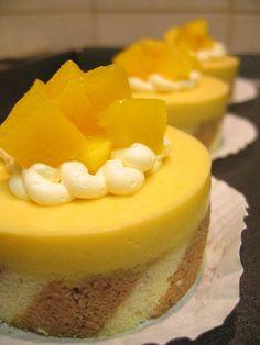 #cake Mango Mousse