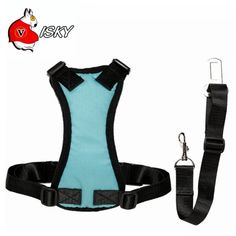 Visky ® cat Dog 2 In 1 safety Vehicle Harness Dog Vest Harness   Nylon Seat Belt -- For more information, visit now (This is an amazon affiliate link. I may earn commission from it)