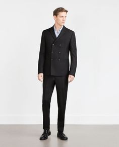 Image 1 of STRUCTURED TROUSERS from Zara
