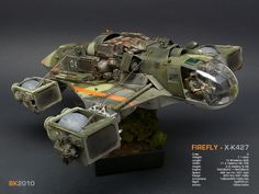 Firefly X-K427 - Ma.K., resin model kit by FutchFactor.com