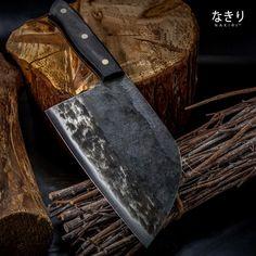 handmade kitchen cleaver chopper - Chef Knife - Ideas of Chef Knife Handmade Chef Knife, Handmade Knives, Professional Kitchen Knives, Vegetable Slice, Best Chefs Knife, Cleaver Knife, Unique Knives, Hand Forged Knife, Knife Grinder