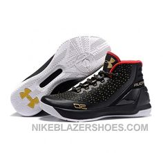 d08601fd8a7 Under Armour Stephen Curry 3 Shoes Black White Golden Online