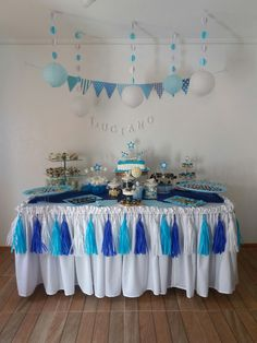 Birthday Table Decorations, Baptism Decorations, Prince Birthday Party, Birthday Party For Teens, Superhero Baby Shower, Boy Baby Shower Themes, Shower Bebe, Baby Boy Shower, Baby Prince