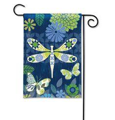 "Garden Flag ""Capistrano Dragonfly"""