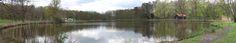 Panorama foto schutterspark vijver Brunssum