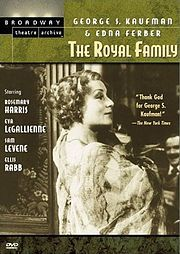 The Royal Family Poster Barrymore Family, John Barrymore, Rosemary Harris, Fredric March, Family Poster, Family Tv, Family History, Movie Tv, Actors