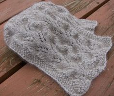 The Colour of Mist, Free Scarf Knitting Pattern