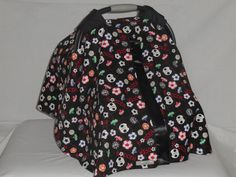 Soccer balls baby car seat cover/canopy by SewCuteNanna on Etsy https://www.etsy.com/listing/246336281/soccer-balls-baby-car-seat-covercanopy