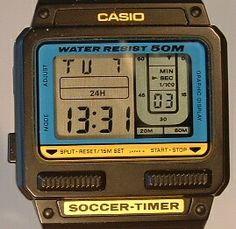 Casio Soccer-Timer