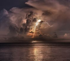 Catatumbo lightning, Venezuela Known as Relámpago del Catatumbo — it can spark as many as 3,600 bolts  in an hour.  'Everlasting storm' has 1 million lightning strikes a year