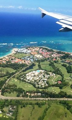 Puerto Plata, Dominican Republic - from the air!