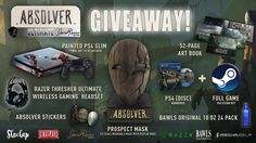 Win a Hand Painted Absolver Playstation 4 and Absolver Prize Pack
