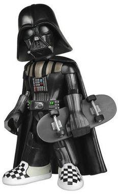 2014 Star Wars Darth Vader Funko vinyl figure VANS skateboard LIMITED  EDITION  FUNKO Vans Skateboard 3e93b3c8641
