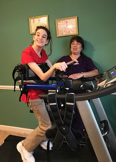 A private physical therapy practice in North Carolina shares video and descriptions of young clients' successful gains with the Pacer's treadmill base. https://www.rifton.com/adaptive-mobility-blog/blog-posts/2018/may/great-strides-with-dynamic-pacer