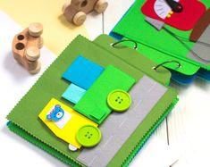 Actividad - tranquilo - libro ocupado - fieltro - niño juguetes - suave del libro - libro primero - libro del niño - bebé actividad libro - libro de tela