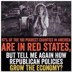 Remember red states, next time you're at the voting booth who really has your back
