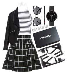 """Untitled #561"" by ssm1562 ❤ liked on Polyvore featuring Ally Fashion, Forever 21, Chanel, I Love Ugly, Maison Margiela, Le Métier de Beauté and Zizzi"