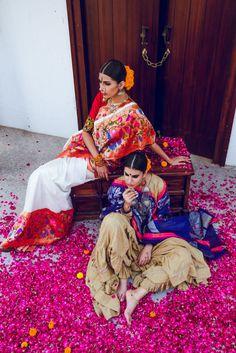 South Indian Bridal Inspiration: Gaurang Shah's Saris South Indian Bride, Indian Bridal, Asian Bride, Indian Attire, Indian Wear, India Fashion, Asian Fashion, Modern Fashion, Indian Dresses