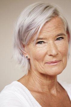No Botox, no facelift. Natural ageing, just perfect.