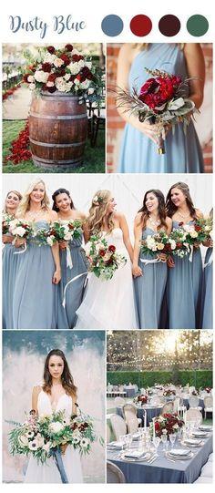 Burgundy Wedding Colors, Rustic Wedding Colors, Winter Wedding Colors, Winter Weddings, Burgundy Color, Red Color, Wedding Color Combinations, Wedding Color Schemes, Colour Schemes