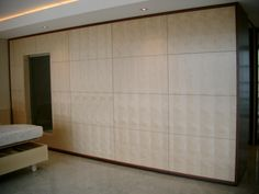 Figured Sycamore Veneer With Jarrah Veneer Surround Bedroom Wardrobe, Mirror Cabinets, Vanity Units, Can Design, Joinery, Outdoor Decor, Furniture, Bathroom, Home Decor