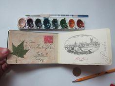 travel sketchbook via the sketching backpacker