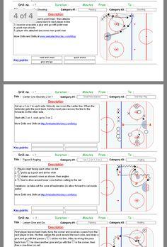 Hockey Workouts, Hockey Drills, Dek Hockey, Hockey Training, Play, Chalkboard, Ice
