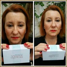 Within 2 minutes, Instantly Ageless reduces the appearance of under-eye bags, fine lines, wrinkles and pores, and lasts 6 to 9 hours. This specifically designed micro cream targets areas that have lost elasticity — revealing visibly toned, lifted skin. www.bella64.jeunesseglobal.com