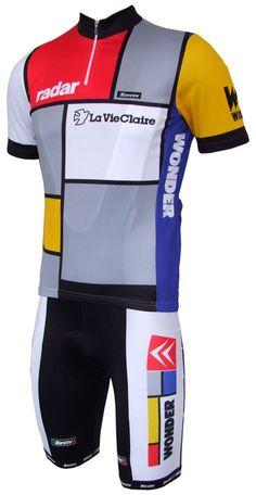 La Vie Claire Mondrian jersey