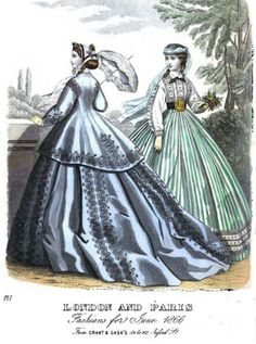 1866 (June) London and Paris fashions