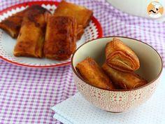 Crujientes de plátano fritos, Receta Petitchef Sweet Potato, French Toast, Vegetables, Breakfast, Ethnic Recipes, Desserts, Ideas, Fried Bananas, Flaky Pastry