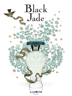 'Black Jade' by Lubin. Top notes are galbanum, bergamot and cardamom. Middle notes are rose, jasmine, incense and cinnamon.  Base notes are sandalwood, patchouli, vanille, tonka bean and amber.