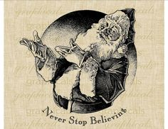 The Finest Copyright Free Public Domain Clip Art Photos and Images in the Known Universe Santa Claus Images, Vintage Santa Claus, Vintage Santas, Santa Clause, Vintage Christmas Images, Vintage Images, Christmas Ideas, Antique Christmas, Father Christmas