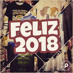 #feliz2018 #felizañonuevo #quesecumplantodoslosdeseos #irarte #mendozaplazashopping y www.estampado.com.ar