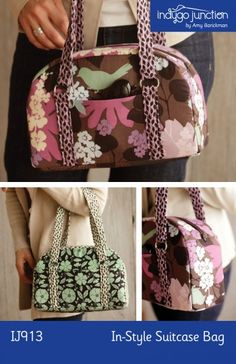 Suitcase bag pattern