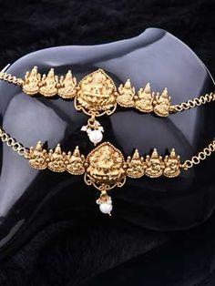 Bridal Armlet with Mahalakshmi Design