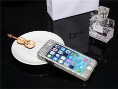 Luxuriös Swarovski Diamanten Metall Rand Handyhülle für Iphone 5/5S - Prima-Module.Com