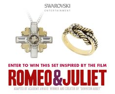 Last day to enter to win our knot ring & pendant necklace inspired by #SwarovskiEntertainment's #romeoandjuliet #SwarovskiUS