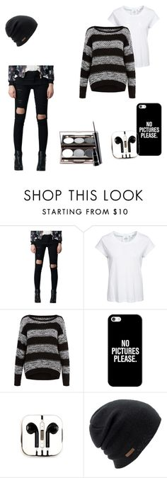 """Emo"" by blackmidnightkitten ❤ liked on Polyvore featuring Cheap Monday, Casetify, PhunkeeTree, Coal, Nude by Nature and MAC Cosmetics"