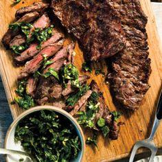 St. Anselm's Garlic Steak Recipe - Bon Appétit