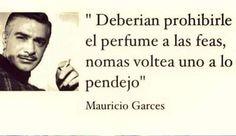 Mauricio Garcés y el perfume