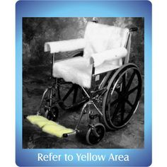 Wheelchair Foot Cover Kodel - Pair, Maize, seen at Deluxe Comfort. View more items at http://www.deluxecomfort.com/mobility-aid/wheelchairs-accessories/wheelchair-parts.html