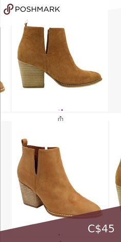 Suede tan booties Brand new but ordered the wrong size. Bought a similar black pair too if interested Can't return beast Shoes Ankle Boots & Booties Tan Booties, Leather Ankle Boots, Bootie Boots, Shoe Boots, Shoes, Sam Edelman Boots, Steve Madden Boots, Brown Ankle Boots, Chelsea Boots