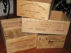 Decorate your bar or a central area of the party with old wood crates filled with paper shreds. Have bottles of liquor peaking out from the paper and put labels on the boxes with the name of your speakeasy. These bottles of liquor are fun personalized favors for your party as well.