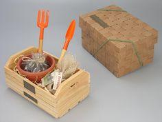 Kit Jardinagem Mini (KJ001) Ideias Diy, Creative Gifts, Watermelon, Picnic, Decorative Boxes, Birthdays, Boxing, Professor, Tutu