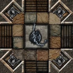 Dundjinni Mapping Software - Forums: ProBono's Dungeon Tiles - Mercutio (GIMP)