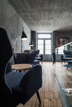 Moustache Coffee House - Porto by Paulo Carvalho, via Behance Cafe Restaurant, Restaurant Design, Restaurant Interiors, Cafe Interior, Interior Design, Coffee Shop Design, Cool Cafe, Commercial Interiors, Retail Design