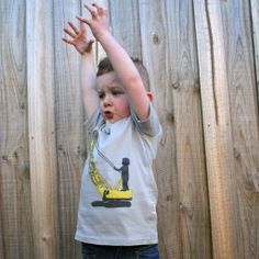 "Master Moodie doing his best crane impersonation in his ""Crane Chaos"" tee."